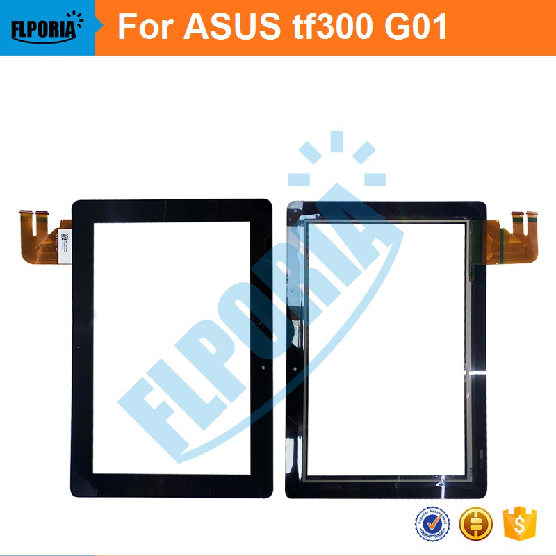 Tablet Touch Panel 10.1'' Inch For ASUS TF300 G01 Touch Screen Digitizer Front Glass with Flex Cable Assembly 100% New купить