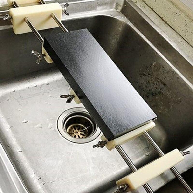 LEEPED Multi Purpose Nylon Knife Sharpening Stone Base General Adjustable Rack Slip resistant Strickenly Rack