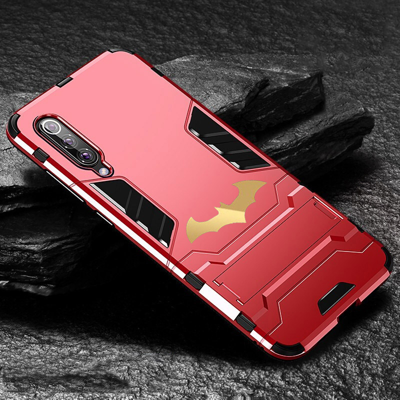 HTB1VZOeXlCw3KVjSZFuq6AAOpXaP Bat Kickstand Case For Samsung Galaxy S9 S10 Plus S10e Note 9 Samsung A70 A50 A30 M30 M20 Shockproof Armor TPU + PC Tough Cover