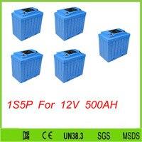 5pcs 1S5P 12V Lithium Iron Phosphate Battery 100Ah for Solar Energy/Lifepo4 12v 100ah Battery For 12V 500AH lifepo4 battery pack