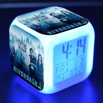 Ривердейл фигурки героев светодио дный будильник красочные флэш ночник ТВ фигурка игрушки
