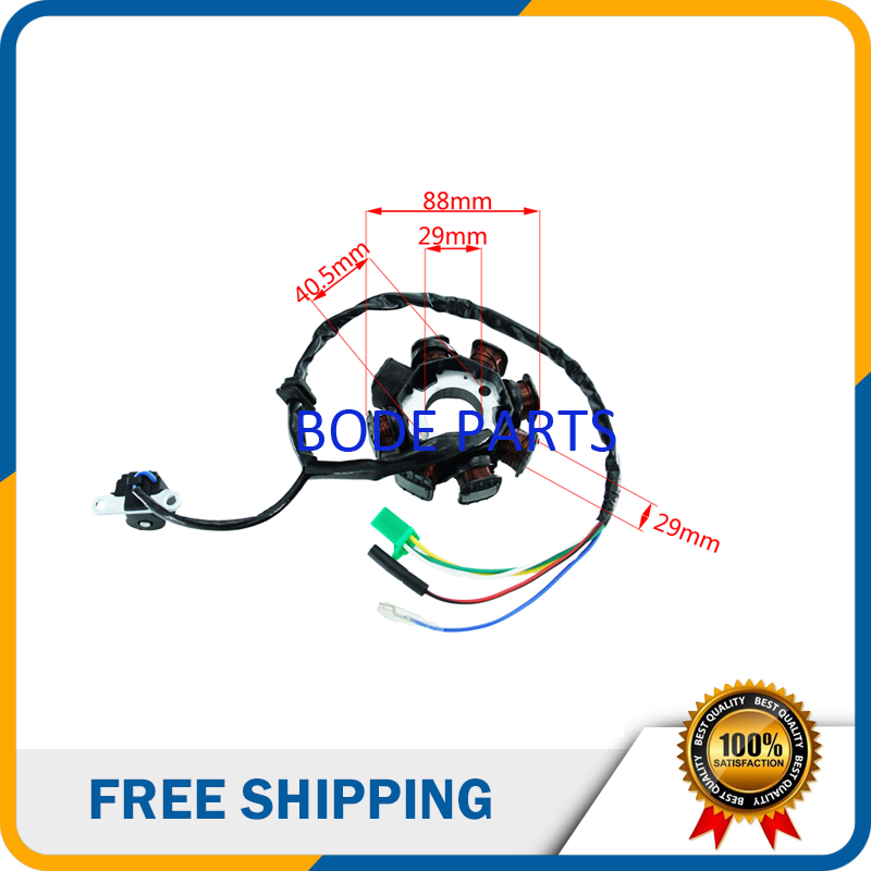 8 Coil Magneto Stator for GY6 125cc 150cc 200cc Electric Start ATV  Cc Gy Wiring Diagram Magneto on gy6 150cc ignition switch, 150cc scooter carb diagram, gy6 150cc headlights, gy6 ignition wiring, gy6 150cc clutch, gy6 150cc oil pump, yamaha zuma 50 wiring diagram, gy6 150cc voltage, 150cc engine diagram, gy6 150cc carburetor, 150cc scooter wiring diagram, gy6 150cc spark plug, gy6 50cc wiring-diagram, jonway wiring diagram, gy6 150cc coil, chinese scooter carburetor diagram, gy6 150cc fuel pump, gy6 150cc troubleshooting, crossfire 150 wiring diagram, 50cc scooter wiring diagram,