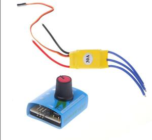 30A 12V DC 3-phase High-Power Brushless Model Motor Speed PWM Controller Driver(China)