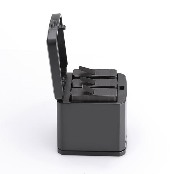 3 emplacements USB Chargeur De Batterie De Stockage Boîte De Recharge + 2 pièces Batterie pour GoPro Hero 6/5 Batterie GDeals