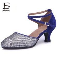 63df7307 Nueva llegada zapatos de baile latino de salón de baile para mujer zapatos  de baile modernos