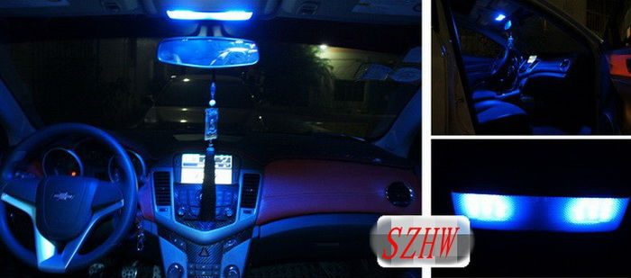 Julio King Ice Blue LED Car Interior Luces de lectura Funda para - Luces del coche - foto 5