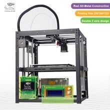 2017 новые металлический Flyingbear-P905 DIY 3D Принтер Комплект Высокое качество точностью автоматического выравнивания Makerbot Структура подарки