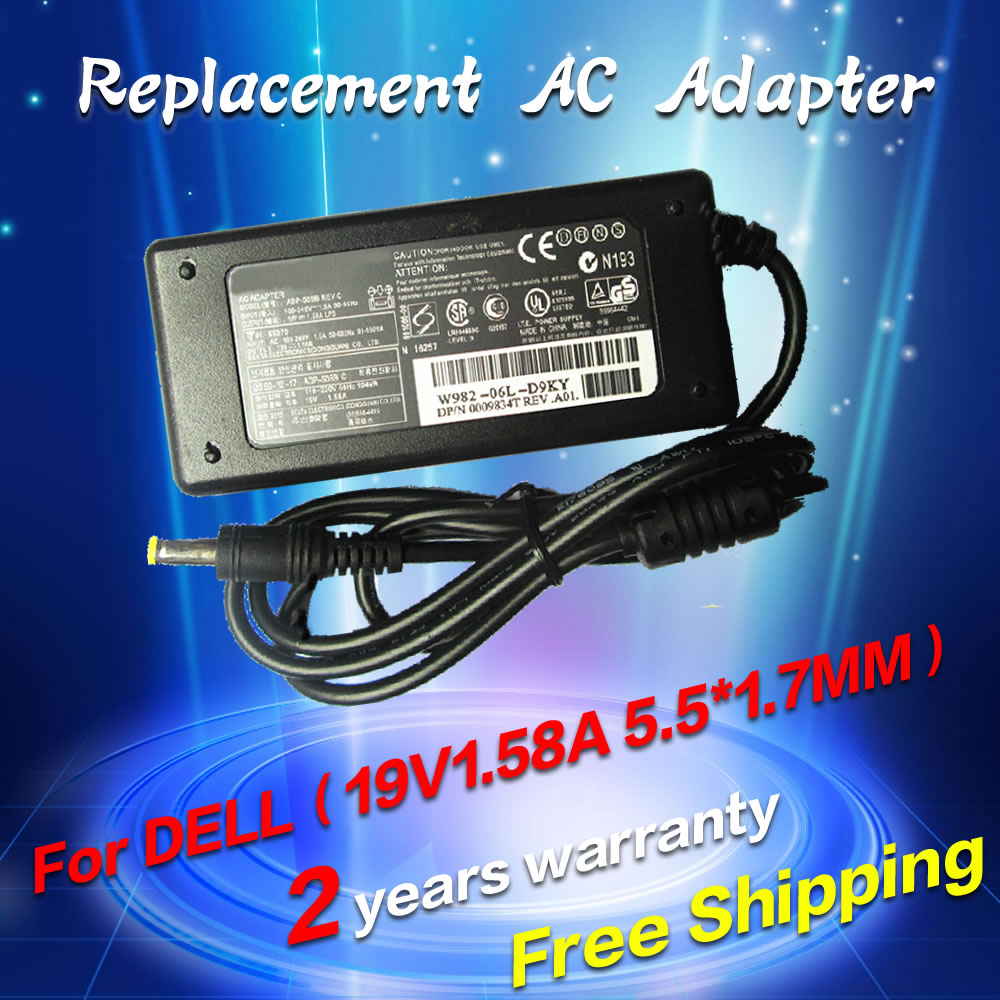 Replacement For Dell 19v 158a 5517mm 40w Inspiron1090 Duo 1000w Power Supply Wiring Diagram 1210 910 Inspiron Mini 10 1010 1011 1012 1012n 1018