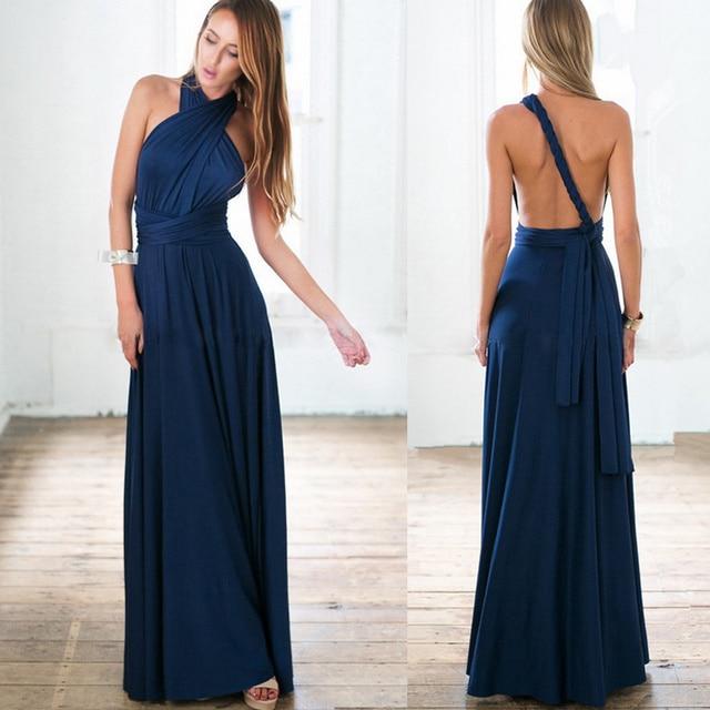 7496f98e5f SMDPPWDBB verano maternidad vestidos vestido Maxi abrigo Convertible vestido  del vendaje Noche del partido vestido de