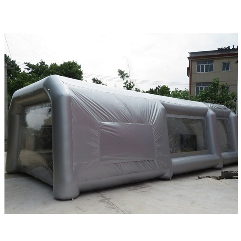 все цены на Free Shipping 10*5*3.5m Inflatable Spray Booth inflatable sprat paint booth for car painting With Filter and two air blowers онлайн