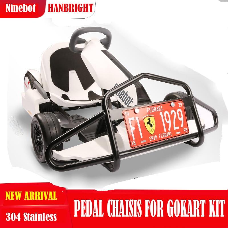 Protection de pare-chocs protecteur pour Ninebot Gokart Kit anti-Collision Faisceau pour No 9 Hoverboard Raccords