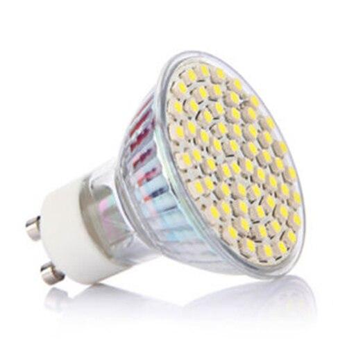 5W GU10 60 3528 SMD LED Spotlight