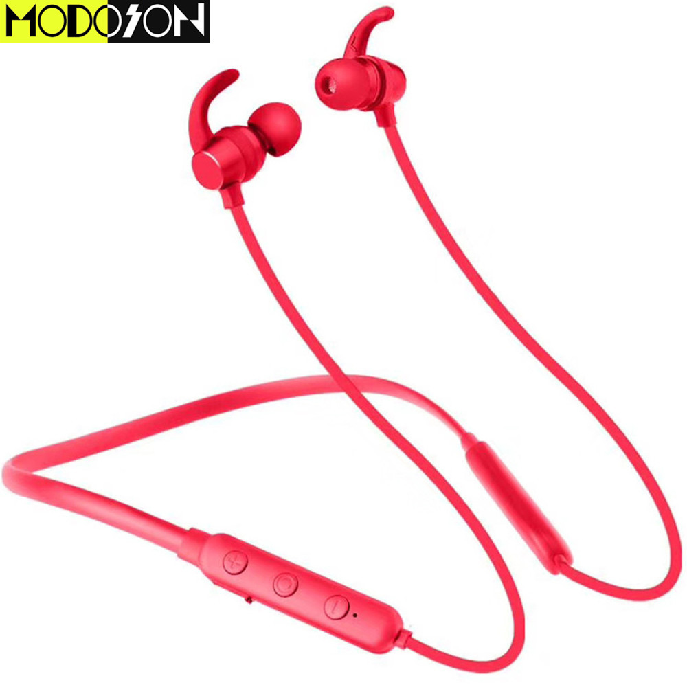 MODOSON Bluetooth Headphone X7S Wireless Headset Portable Waterproof Sports Stereo Earphones For iphone Samsung Huawei Xiaomi PC
