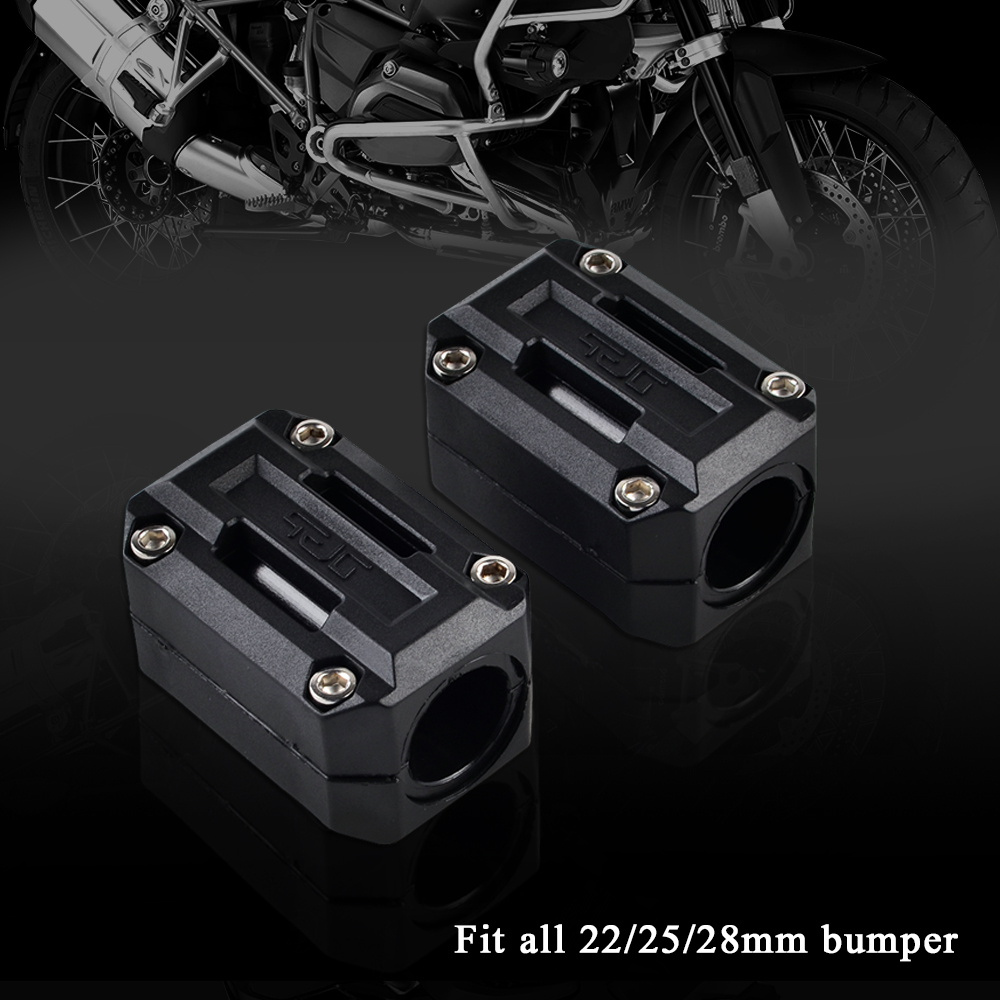 Image 2 - 22/25/28mm Engine Protection Guard Bumper Decor Block For Yamaha XT1200Z Super Tenere XT 1200Z-in Falling Protection from Automobiles & Motorcycles