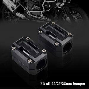Image 2 - 22/25/28mm Engine Protection Guard Bumper Decor Block For Yamaha XT1200Z Super Tenere XT 1200Z
