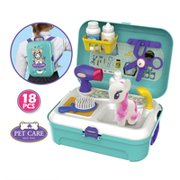 Hot Baby Miniature Kitchen Plastic Pretend Play Food Children Toys with Music Light Kids Kitchen Cooking Toy Set for Girls Games