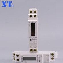 DDS5188 5(32) 230 В 50 Гц однофазный din-рейка кВт-ч Ватт час Din-rail счетчик энергии тестер контрольная панель XTM18SA