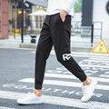 Pantalones harén Hombres Nuevo Estilo: moda Casual Classic Slim Fit Flaco Hombres Chándal de Chándal Sarouel Homme Hombres Basculador Pantalones