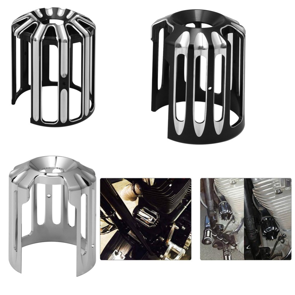 Oil Filter Cover Fit For Harley Sportster 883 1200 XL Machine Oil Grid Billet Fit For Harley Touring Softail Dyna Fatboy CVO
