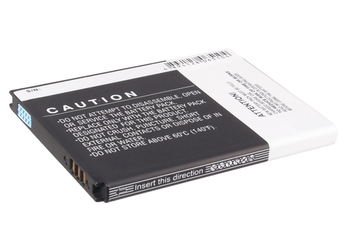 1650mAh Battery For AT&T Focus S,Rugby Smart,SGH-i847,SGH-i937 ( P/N EB524759VA