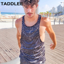 Taddlee Brand Fashion New Mens Tank Top Sports Running Tee Shirts Sleeveless Gasp Fitness Stringer Singlets Muscle Undershirts
