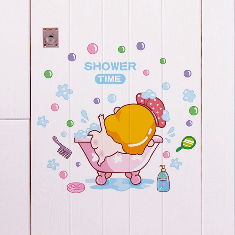 Baby Animation Wallpaper For Mobile: DIY Baby Room Sticker Self Adhesive Wallpaper PVC Animated