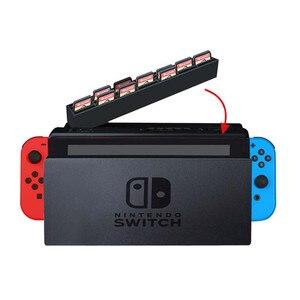 Image 3 - Nintend スイッチゲームカードケース収納ボックスホルダーカートリッジ 28 ゲームカードスロット Nintendos スイッチドッキングコレクション