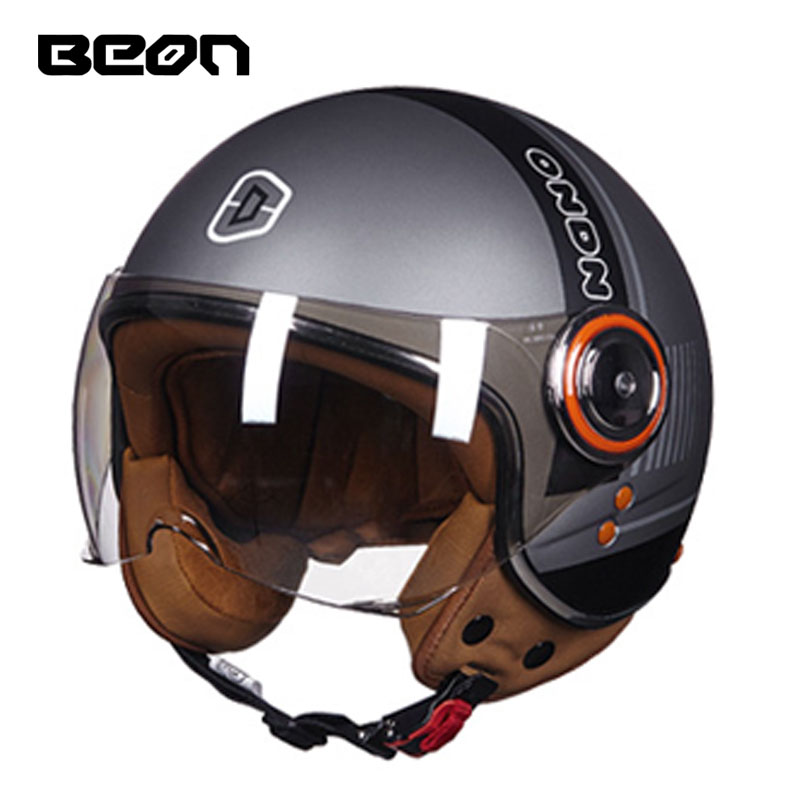 ECE Classic-vlag BEON B-110B motorcross-halfvlak Helm, motorfiets - Motoraccessoires en onderdelen - Foto 2