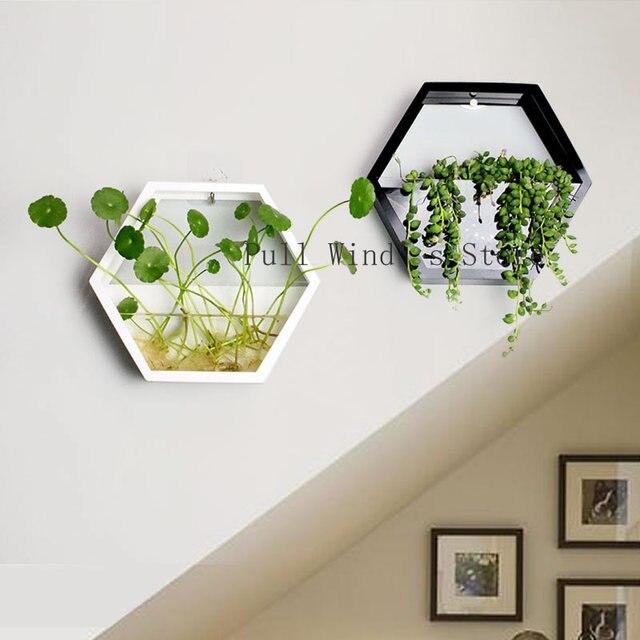 Mode einfache hause Polygon wand töpfe Kreative Pastoralen Blumen ...