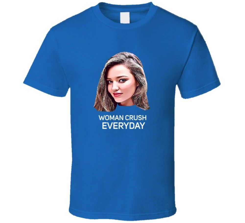 Miranda Kerr Woman Crush Everyday Essential Fan T Shirt