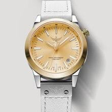 New Arrive YELANG V1010 Upgrade Version T100 Tritium Yellow Luminous Waterproof Lady Fashion Business Quartz  Watch Wristwatch