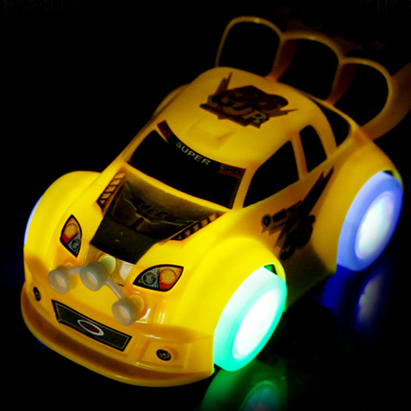 143 new electronic kids sports car toys lighting with music diecast model toys automatically