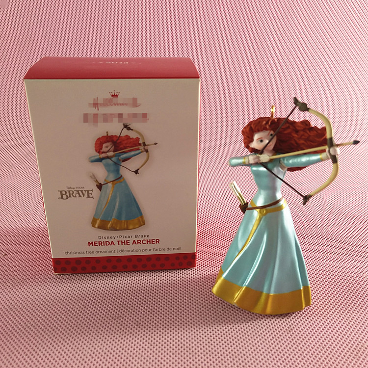 Box Toy Original Garage Kit Classic Toy Merida The Archer with Bow Beauty Princess PVC Action Figure Collectible Model Loose Toy ...