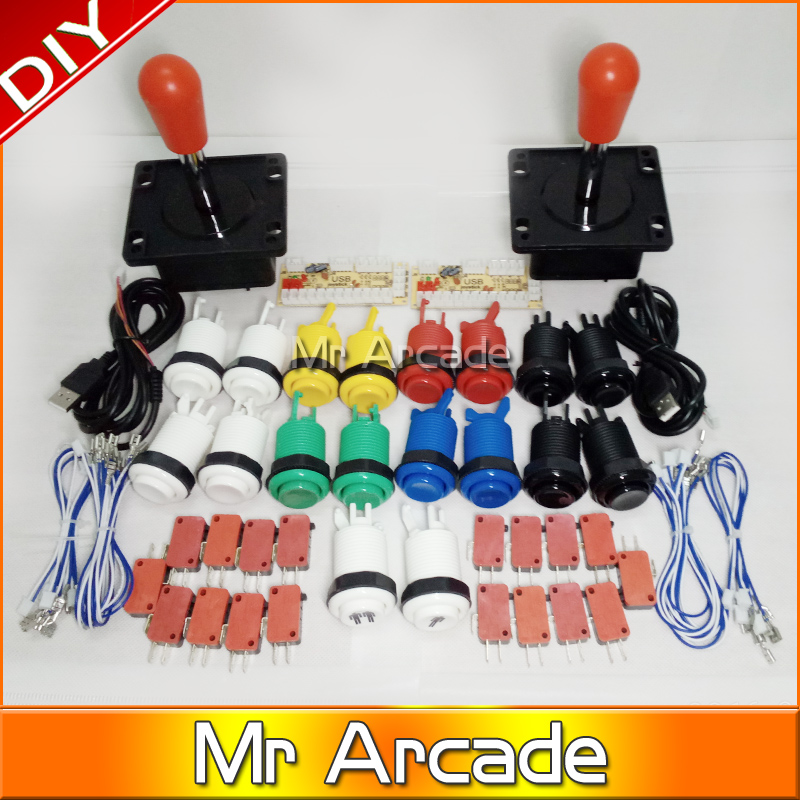 Mr Arcade Game DIY Parts for Mame joystick red ball USB Zero Delay USB Encoder 8 Way Classic Arcade Classic Arcade Push Button кабель red line classic micro usb 2м белый