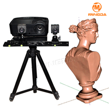 MINGDA High Precision Non-contact 3D Scanner For Sculpture Carving Professional Fast Scan Industrial Level High Resolution Scan