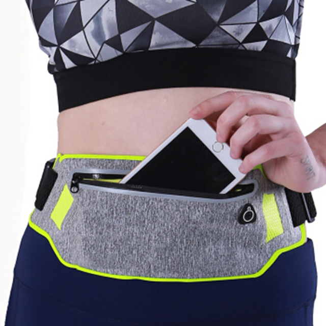 Running Bag Waterproof Running Waist Bag Fanny Pack Men Women Jogging Belt bag Gym Fitness Bag Sport Bike Accessories 2