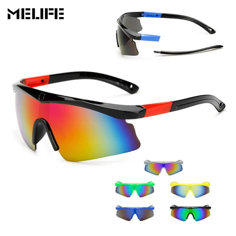 MELIFE UV 400 Для Мужчин велосипедные очки Открытый спорт Горный Рыбалка очки ветрозащитный Мотокросс взрывозащищенные велосипедные очки