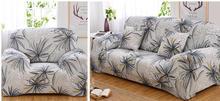 Flexible Stretch cubierta de Sofá, sofá de Dos Plazas Sofá cubierta de Gran Elasticidad de Mueble de Cobertura 1 unid-Lavable A Máquina