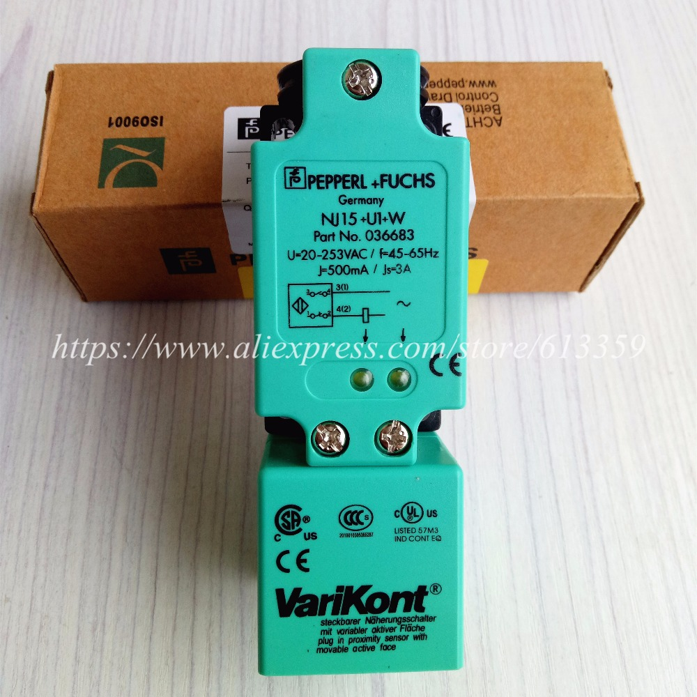 NJ15+U1+W Proximity Switch Sensor P+F  New High-Quality  NJ15+U1+W Proximity Switch Sensor P+F  New High-Quality