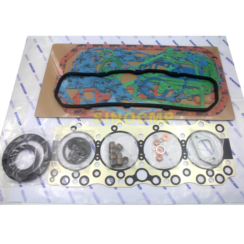 Engine 4BD1T Full Gasket Kit For Hitachi EX120-2 EX120-3 Excavator new full gasket kit z 5 87814 206 0 for 3lb1 engine mini excavator free shipping