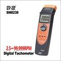 RZ цифровой мульти-функциональный Запись тахометр об/мин запись метр тестер 2 5 ~ 99999 об/мин USB Бесконтактный тахометр SM8238