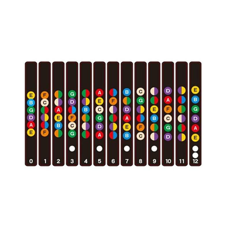 Sports & Entertainment Ootdty 2pcs Violin Practice Fiddle Finger Guide Sticker Fingerboard Fretboard Marker Musical Instruments