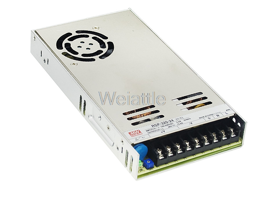 MEAN WELL original RSP-320-5 5V 60A meanwell RSP-320 5V 300W Single Output with PFC Function Power SupplyMEAN WELL original RSP-320-5 5V 60A meanwell RSP-320 5V 300W Single Output with PFC Function Power Supply