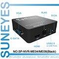 SunEyes SP-NVR-ME04/SP-NVR-ME08 4ch/8ch Супер Мини NVR Сетевой HD Видеорегистратор 720 P/1080 P Поддержка ONVIF 1080 P Выход HDMI