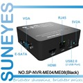 SunEyes SP-NVR-ME04/SP-NVR-ME08 4ch/8ch Super Mini NVR Network HD Video Recorder 720P/1080P Support  ONVIF 1080P HDMI Output
