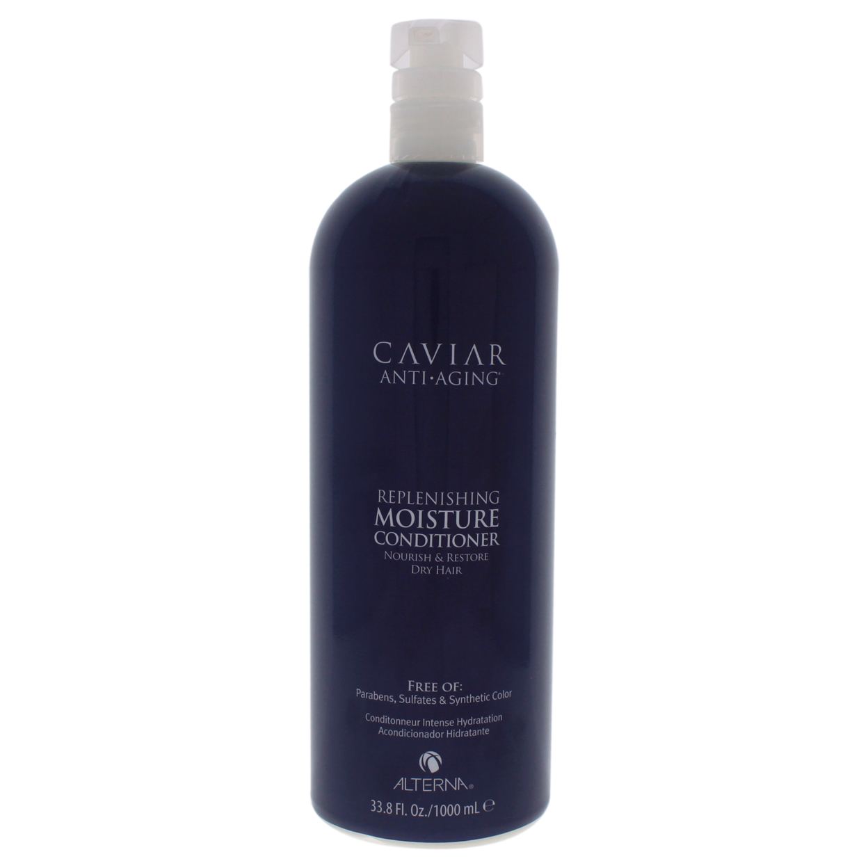 Caviar Anti Aging Replenishing Moisture Conditioner by Alterna for Unisex - 33.8 oz Conditioner alterna caviar anti aging молочко интенсивно увлажняющее caviar anti aging молочко интенсивно увлажняющее