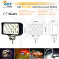 1pcs 10-30V DC 33W Bridgeluxs led 6.0 inch led work light lamp car truck waterproof for ATV,Project Vehicles,SUV, Excavators