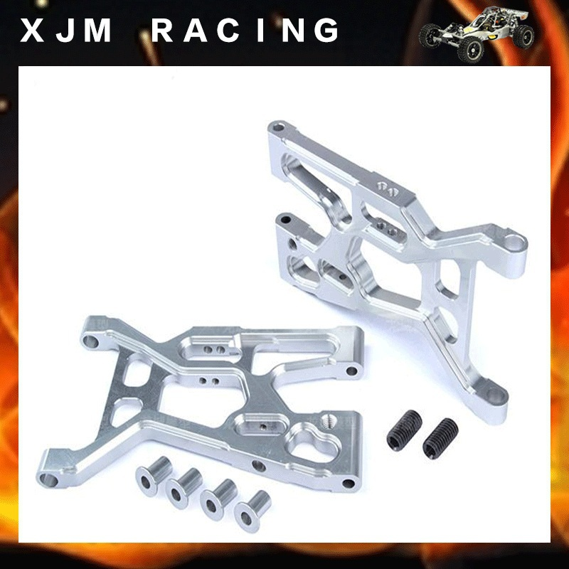 CNC front lower suspension set fit rovan LT losi 5ive-T parts rovan cnc metal rear suspension arm set fit hpi baja losi 5ive t parts