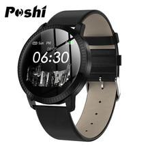 Smart Watch Men Business Digital Watch Sport Calorie Pedometer Stainless Steel Leather Bluetooth Smart Watch Women relogio reloj