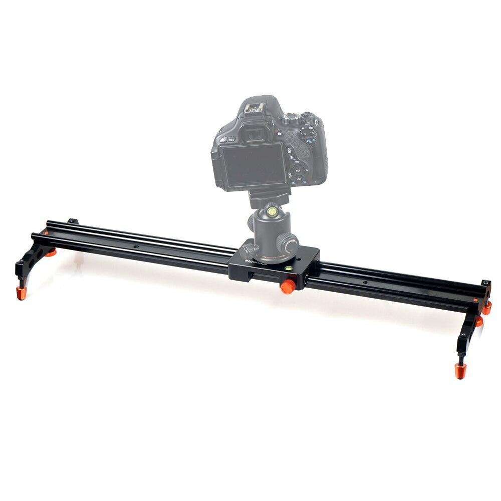 COMMLITE CS-SL60II en alliage d'aluminium coulissant-pad vidéo piste curseur Dolly curseur système de stabilisateur vidéo pour DSLR caméra caméscope